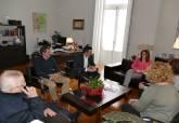 Reunión ADLE y Cáritas - Ampliar imagen