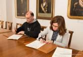 Firma del acuerdo entre la ADLE y el CEFIC - Ampliar imagen