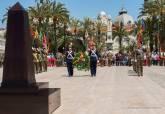 Artillería homenajea en Cartagena a los héroes del 2 de mayo