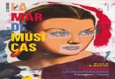 Cartel de La Mar de Músicas 2017, obra de Eduardo Arroyo