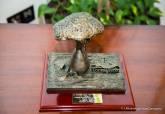 Escultura del I Premio de la Fundación Tomás Ferro