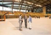 Visita al Palacio de Deportes de Cartagena del alcalde y presidente de la LNFS