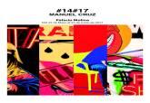 Cartel de la exposición '#14#17', de Manuel Cruz