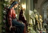 Misa y besamanos Vírgenes de las cuatro cofradías