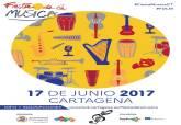 Cartel de la III Fiesta de la Música de Cartagena