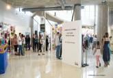 Inauguración de la exposición de trabajos de la UP en el centro Ramón Alonso Luzzy
