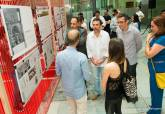 Los estudiantes de cuarto de Arquitectura de la UPCT exponen sus proyectos para la Estación de Autobuses