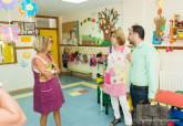 Visita del concejal David Martínez a la Escuela Infantil Municipal La Concepción