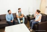 Mister Gay Pride España 2017 conoce el Palacio Consistorial