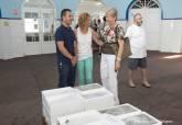 La Cofradía de Pescadores de Cartagena entrega lotes solidarios de pescado a entidades benéficas