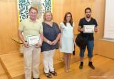 Entrega de diplomas a los alumnos del primer turno del I Campus Universitario de Prácticas y Formación Arqueológica Ciudad de Cartagena