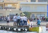 Procesión de la Virgen del Carmen en Los Urrutias