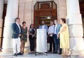 Inauguración de la exposición 'Heryca. Los viajes de Sirus' en el Palacio Consistorial de Cartagena