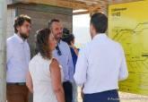 Visita de Obdulia Gómez y Javier Celdrán al Parque Regional de Calblanque