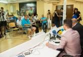Rueda de prensa de la alcaldesa y la directiva EFESÉ