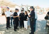 Visita de la Alcaldesa al Campamento de Carthagineses y Romanos