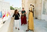 Visita de Aníbal e Himilce a la alcaldesa de Cartagena