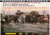 Cartel de la exposición 'El camino español, una cremallera en la piel de Europa'