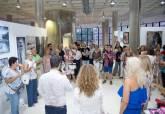 Inauguración de la exposición colectiva de las alumnas de la academia 'Pinta con Vincent'