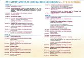 Cartel y programa de la Feria de Asociaciones de Mujeres 2017