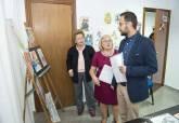 Inauguración de la exposición 'Bailarinas en acuarelas', de la pintora Vichí