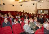 Reunión de presupuestos participativos en el Centro Cultural, sobre propuestas para el Distrito 4