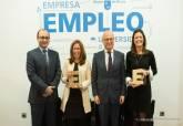 La alcaldesa de Cartagena recoge el galardón de Municipio Emprendedor - Ampliar imagen