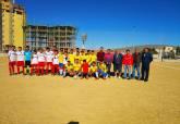 Partido entre el CD Villalba Cadete y La Soledad - Jornada 7 de la Liga Comarcal de Fútbol Base