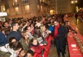 Fiesta del Roscón de Reyes Gigante - plaza del Ayuntamiento