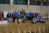 Entrega de trofeos del campeonato de Bádminton Máster Jóvenes