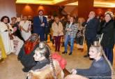La alcaldesa visita en Madrid a los Carthagineses y Romanos
