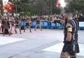 Exhibición de la batalla de Los Carthagineses y Romanos en Madrid
