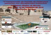 Cartel campeonato de España de Pádel para Personas con Discapacidad Intelectual
