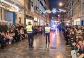 Agentes de la policía local durante el Desfile de Carnaval 2018