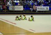 Primera parte de la XXXVIII Competición Escolar de Conjuntos en la modalidad de Gimnasia Rítmica Deportiva