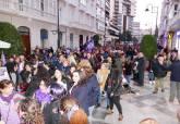 Manifestación 8 de marzo Día de la Mujer