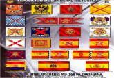 Póster exposición banderas