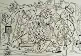 Exposición del artista cartagenero Tomás Mendoza