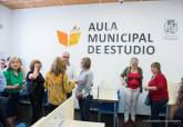 Inauguración del Aula de Estudio de El Algar