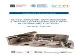 Curso de comunicación y patrimonio cultural