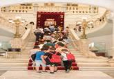 Visita del colegio San Fulgencio de Pozo Estrecho al Palacio Consistorial
