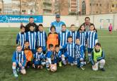 Jornada 25 del campeonato de la Liga Comarcal de Fútbol Base de Cartagena