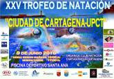 Póster Trofeo Natación Ciudad de Cartagena