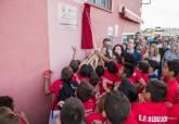 Inauguración del césped artificial de El Albujón