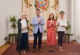 Recepción en el Palacio Consistorial a los alumnos Erasmus + de la ADLE