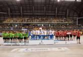 Imagen de archivo de la Clausura de la Liga Comarcal de Fútbol Base en el Palacio de Deportes