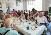 Galería comida de convivencia de la Asociación de Mayores de El Albujón