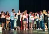Acto de clausura de laEscuela Municipal de Teatro de Cartagena