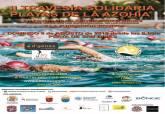 Cartel II Travesía a nado Solidaria Playas de la Azohía