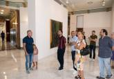 Presentación de la exposición 'Luz e Ironía' de La Mar de Arte